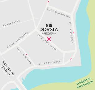 Dorsia Karta Och Vagbeskrivning